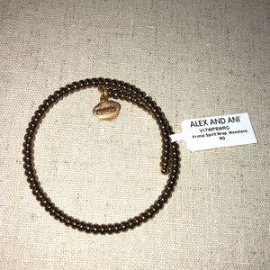 Alex and Ani beaded wrap bracelet